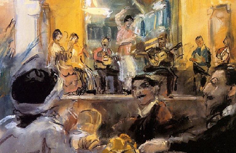 La sciantosa – la regina del café chantant
