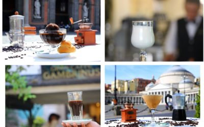 Neapolitan cold coffees