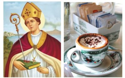 A coffee in honor of Saint Gennaro